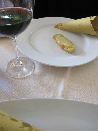 Trattoria Da Cesare : Fried squash blossoms