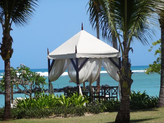 Sands Suites Resort & Spa: Das Gazhebo