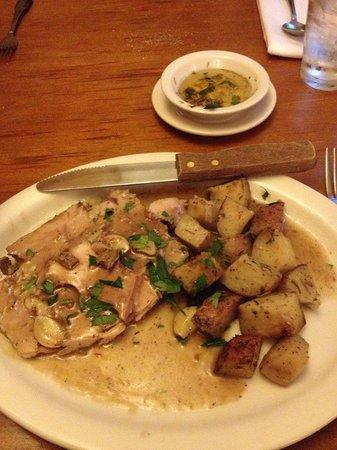 Trattoria La Siciliana : Pork Loin with potatoes