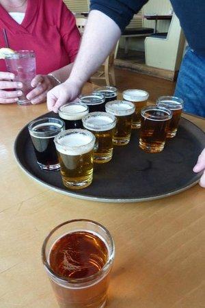 Maine Foodie Tours Kennebunkport: Shipyard Beer Samples