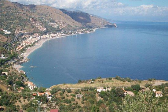 Atahotel Naxos Beach : View from amphitheater Taormina