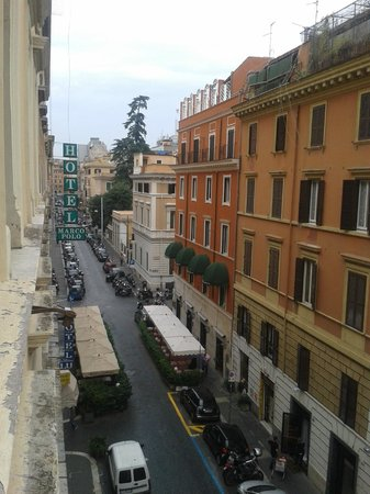 Marco Polo: View from room window