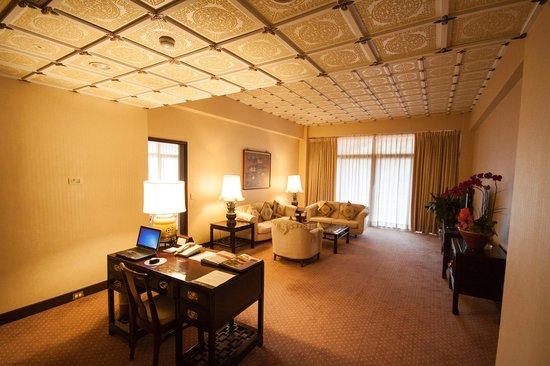 Grand Hotel Taipei: Living room