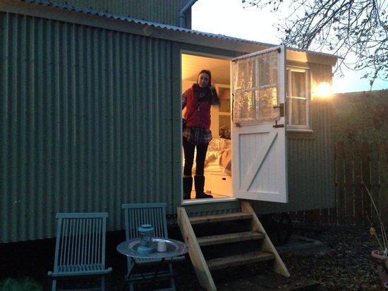 PoSHHuts: Shepherd's hut