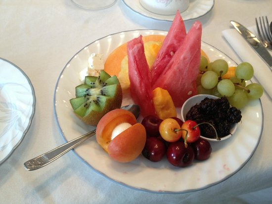 De Rosa Vineyard Bed and Breakfast: Cute presentation