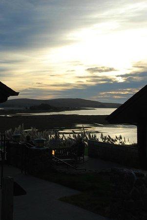 Bodega Bay Lodge at sunset