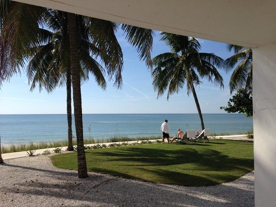 The Naples Beach Hotel & Golf Club: View from room