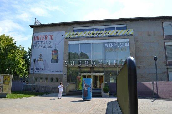 Wien Museum Karlsplatz: la facade du musée