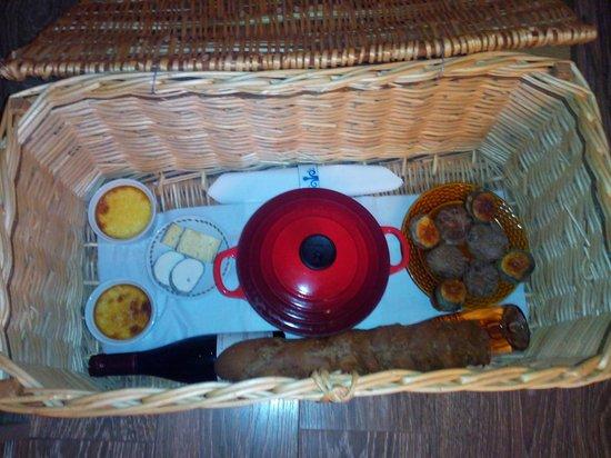 Domaine de la Grangée : panier repas du soir