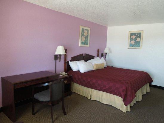 Knights Inn Mineral Wells: Kingbed Room
