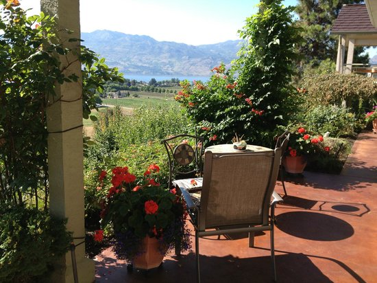 Apple Blossom Bed & Breakfast : The view