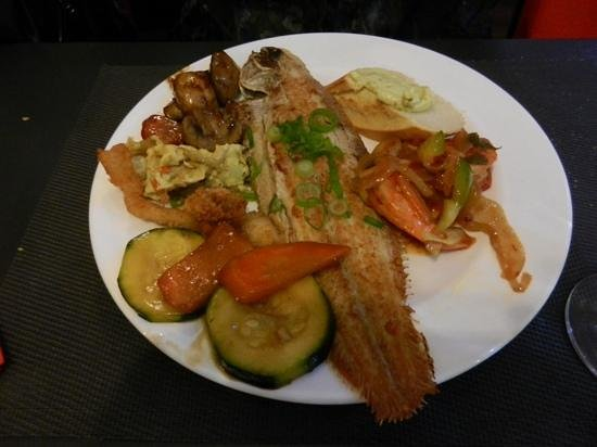Dragon Chen : Een heerlijk sliptongetje met groenten