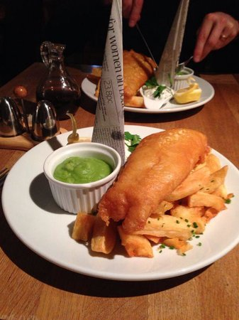 Simply fantastic fish and chips!