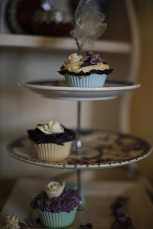 Woodside Bed & Breakfast: Gorgeous cup cakes