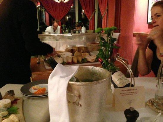 L'Hostellerie des Clos : During dinner...excellent!