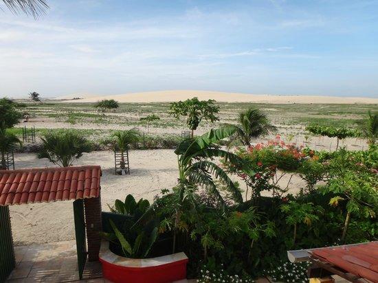 Pousada Sahara: Vista da varanda do chalé