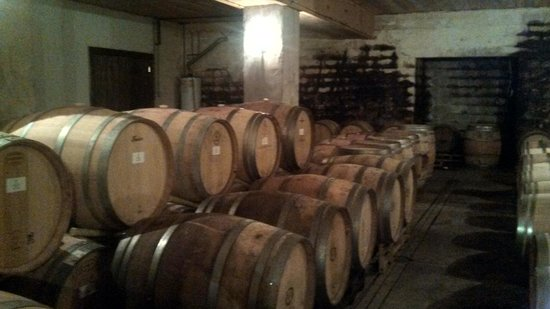 Williamsburg Winery: Barrel room