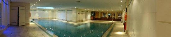 Hilton Cyprus : The interior pool