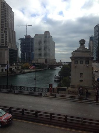 The McCormick Bridgehouse & Chicago River Museum: view from inside the tower