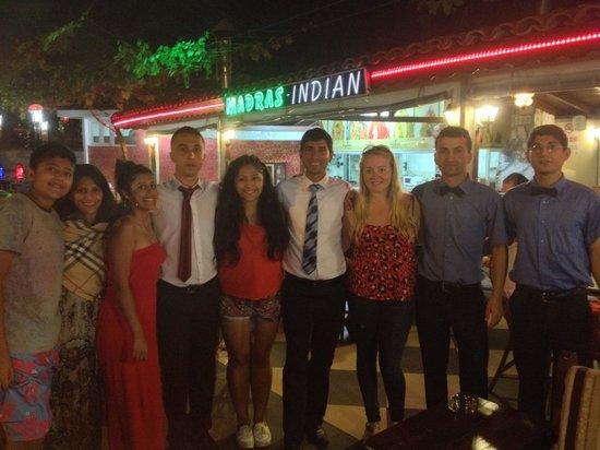 Madras Indian Restaurant: Thank you to the Madras team