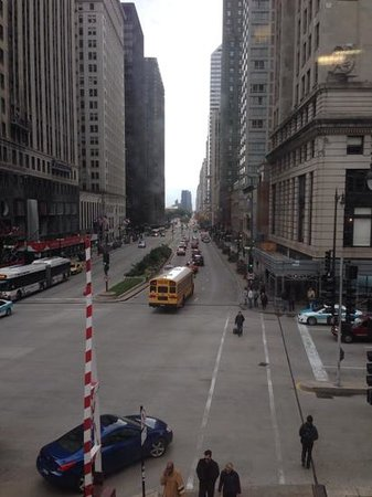 The McCormick Bridgehouse & Chicago River Museum: view from inside museum