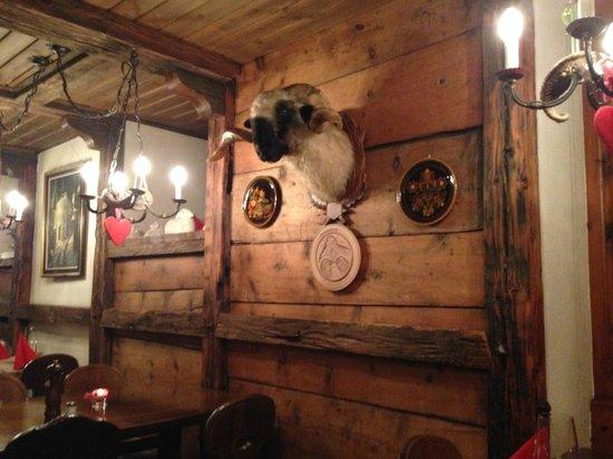 Restaurant Schäferstube : Schaferstubli