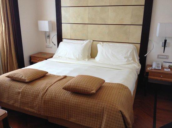 Hotel Principi di Piemonte : le lit est vraiment confortable!