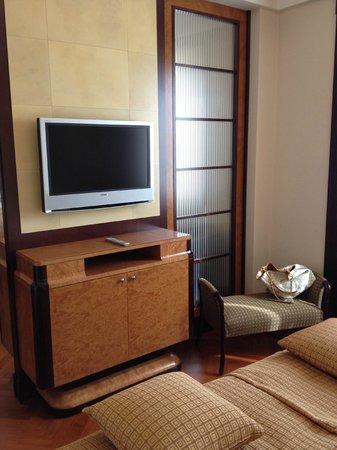 Hotel Principi di Piemonte : coin salon, bureau
