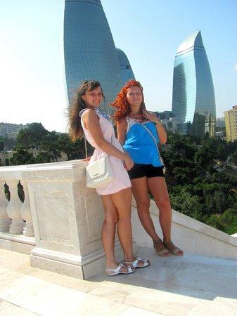 Baku, Azerbaijan: Башни