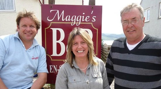 Maggie's B&B: Celebrity chef James Martin comes to film at Maggie's