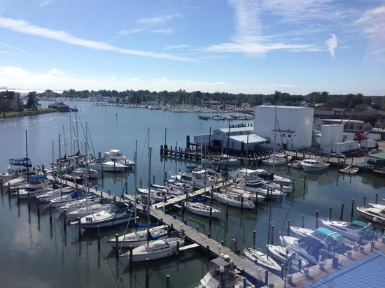 Crowne Plaza Hampton Marina : View from our room