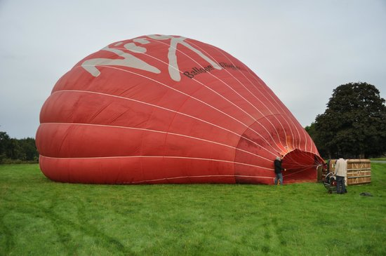 Virgin Balloon Flights - Dalemain, nr Ullswater