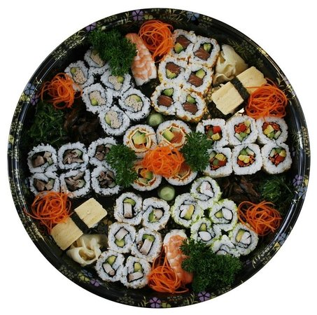 Sushi Wave Authentic Japanese: large mixed sushi platter
