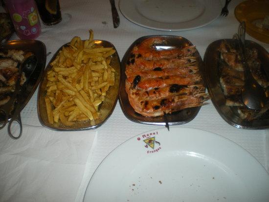 O Manel Dos Frangos: Chicken & Prawns