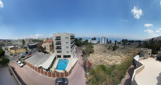 Aviv Holiday Flat : view from balcony