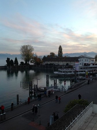 Hotel Bayerischer Hof: view from my room