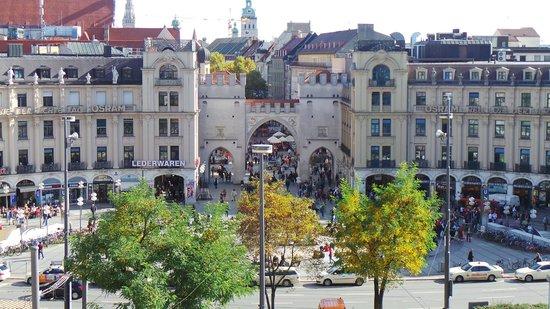 Hotel Koenigshof: View from Junior Suite