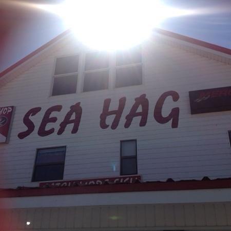 Sea Hag Marina: outside the marina