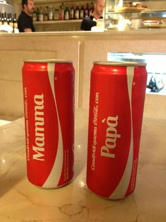 A Le Bande: Personalized Coke