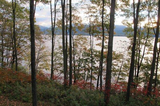 The Sagamore Resort: Dawn over Lake George