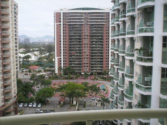 Bourbon Barra Premium Residence: Vista para o condomínio onde o Hotel está localizado.