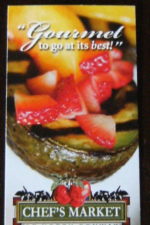 Chef's Bistro: Business Card
