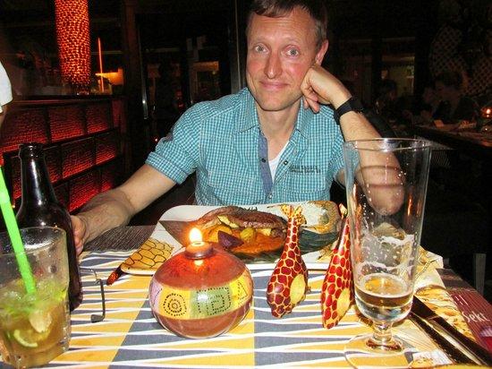 Massai-Berlin: Kudu-Antilope zum Abendessen
