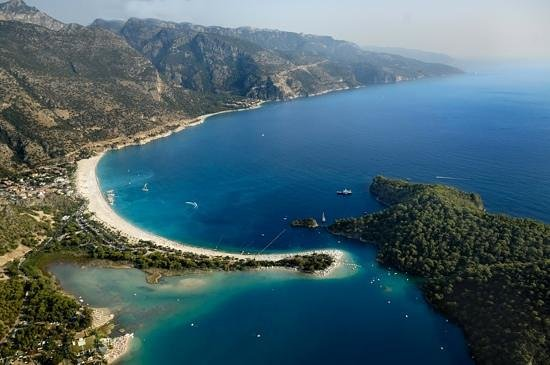 Club Belcekiz Beach Hotel : Air view