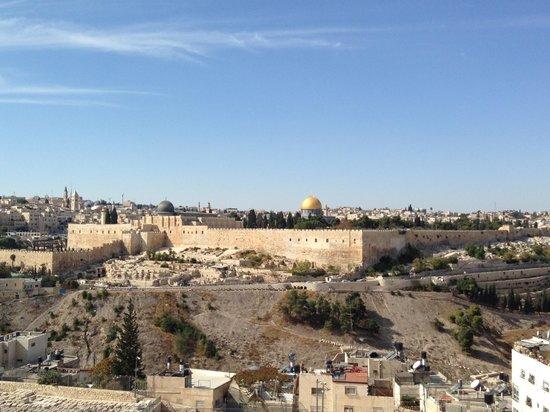 Jerusalem Panorama Hotel: Vista da janela do quarto