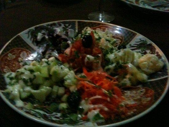 Grand Hotel Tazi: salad