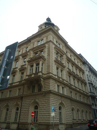 Eurostars David: εξωτερικά το ξενοδοχείο