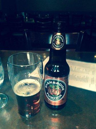 Aurants : Pumpkin beer