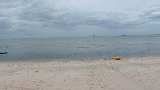 Idyllic Samui Oceanfront Resort & Villas: пляж