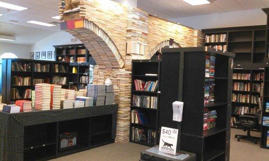 Sandman Book Company Book Arch
